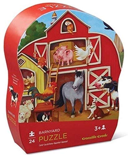 Crocodile Creek Barnyard 24 pc