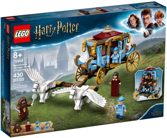 Lego Harry Potter Beauxbaton's Carriage arrival 75958
