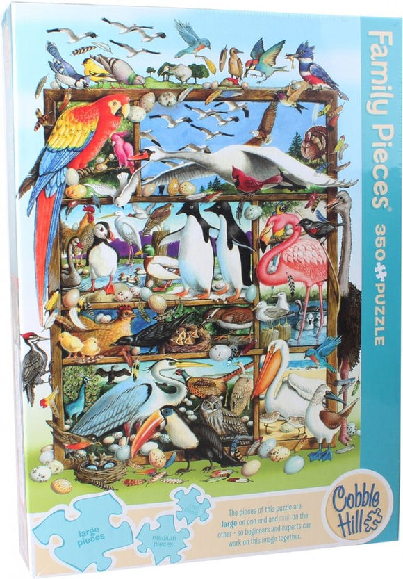 Cobble Hill Family puzzle Birds of the World 350 pc