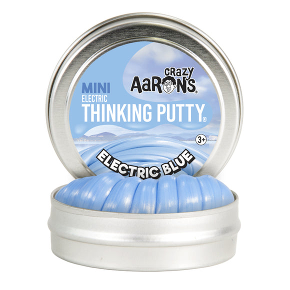 Aarons Thinking Putty Electric Blue Mini Tin