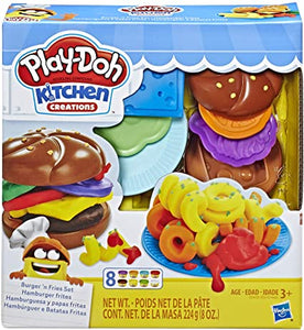Playdoh Silly Snacks Burger 'n Fries