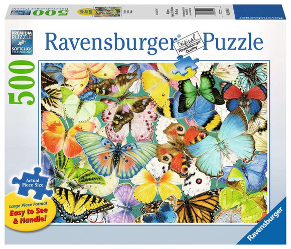 Ravensburger Butterflies 500 pc XL