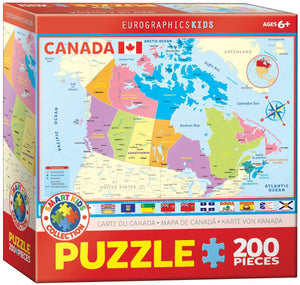 Eurographics Canada Map 200 pc