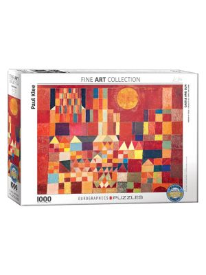 Eurographics Klee's Castle and Sun 1000 pc