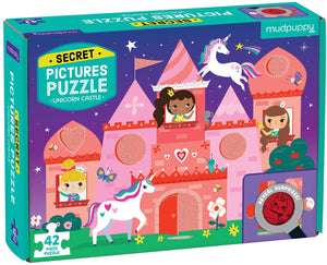 Mudpuppy Unicorn Castle Secret Pictures 42 pc