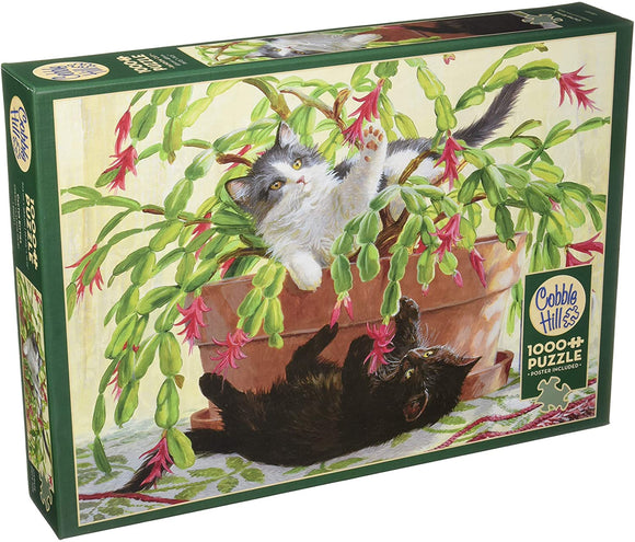 Cobble Hill Cactus Kitties 1000 pc