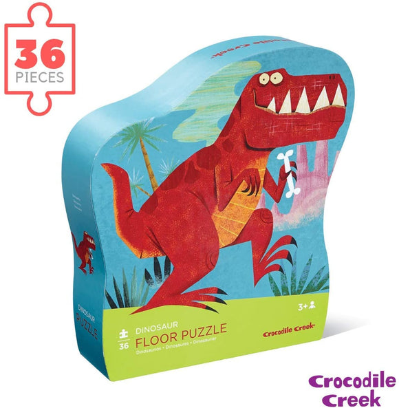 Crocodile Creek Dinosaurs Floor Puzzle 36 pc