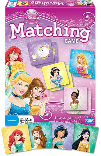 Disney Princess Matching Game