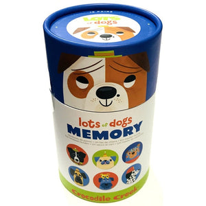 Lots of Dogs Memory Game