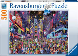 Ravensburger New Years in Times Square 500pc