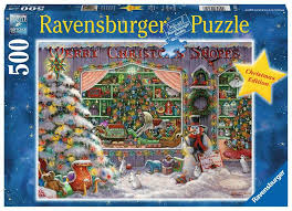 Ravensburger The Christmas Shop 500pc