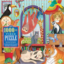 Eeboo Wildlife Interior 1000 pc