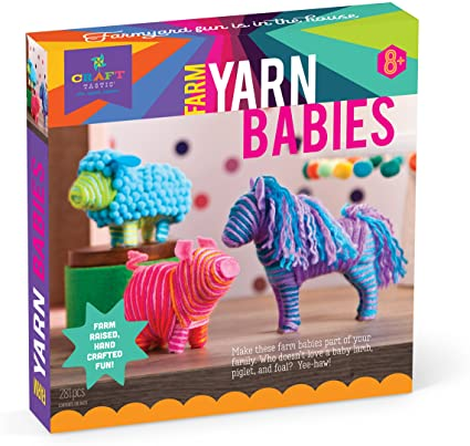 Craft Tastic Farm Yarn Babies