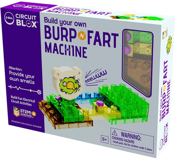 Circuit Blox Build Your Own Burp/Fart Machine
