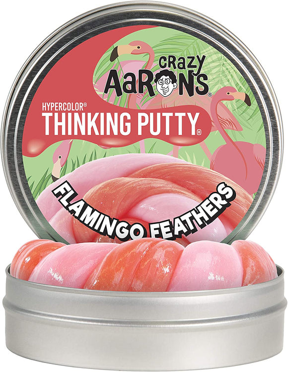 Aaron's Thinking Putty Flamingo Feathers