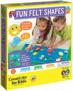 Creativity for Kids Fun Felt Shapes