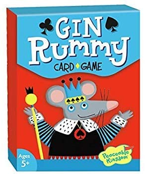 Peaceable Kingdom Gin Rummy