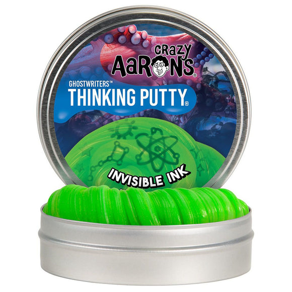 Aaron's Thinking Putty Invisible Ink