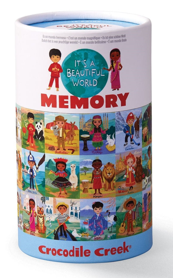 It's a Beautiful World Memory Game