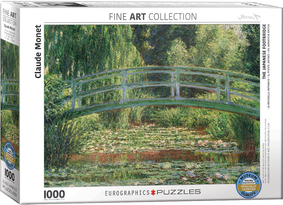 Eurographics Monet's Japanese Footbridge 1000 pc