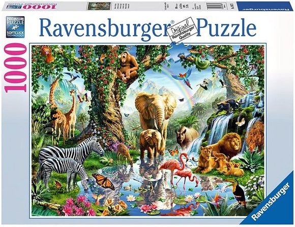 Ravensburger Adventures in the Jungle puzzle 1000 pc