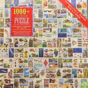Eeboo Curiosity Cabinet of Facts puzzle 1000 pc