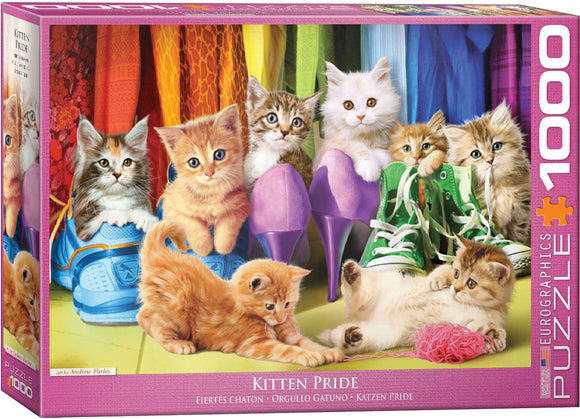 Eurographics Kitten Pride 1000 pc