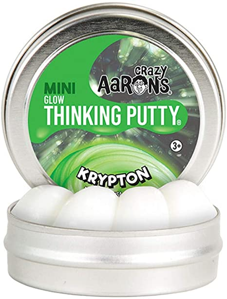 Aaron's Thinking Putty Krypton Mini Tin