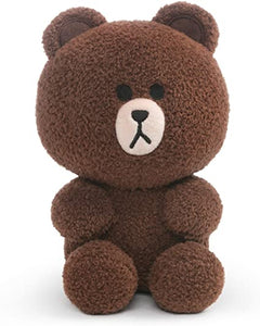 Gund Line Friends Brown Bear 7""