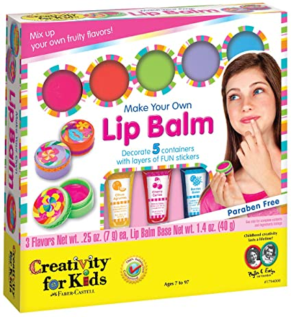 Creativity for Kids Make your own Lip Balm
