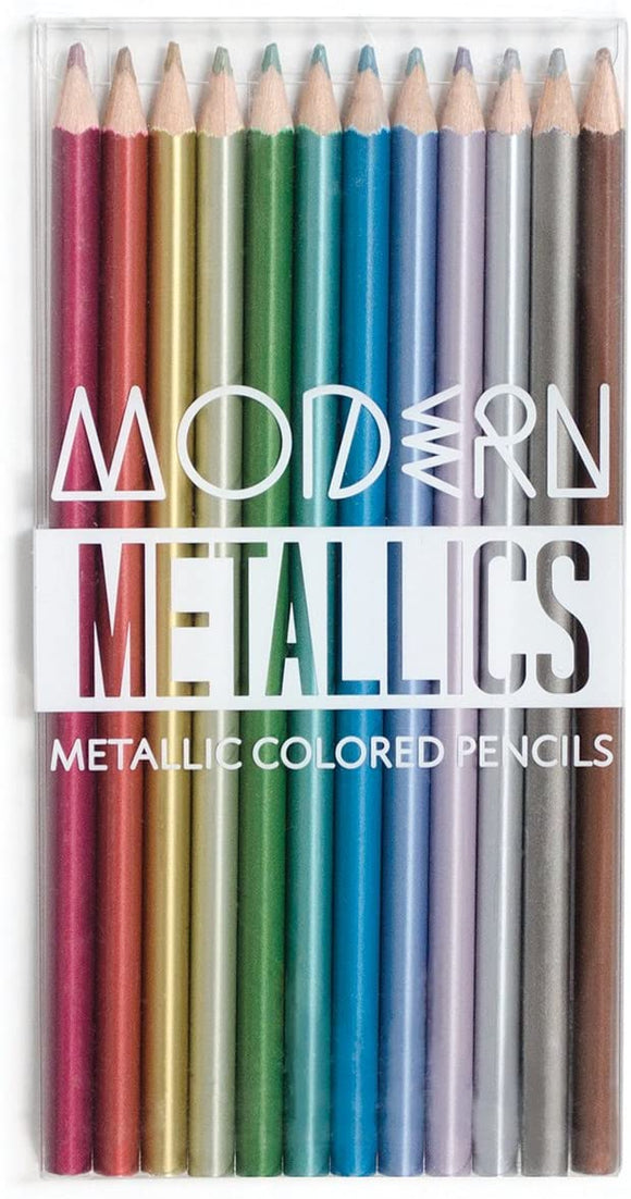 Ooly Modern Metallics Coloured Pencils
