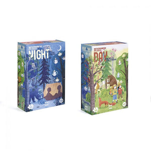 Londji Night & Day in the Forest reversible puzzle 54 pc