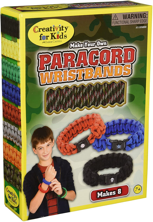 Creativity for Kids Make your own Paracord Wristband