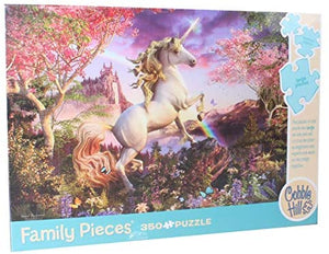 Cobble Hill Family puzzle Realm of the Unicorn 350 pc