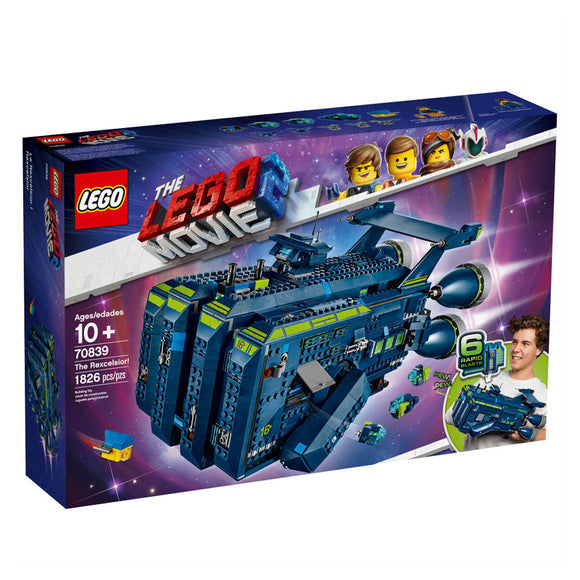 Lego Movie Rexcelsoir Lego set 70839