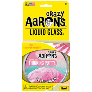 Aarons Thinking Putty Rose Lagoon