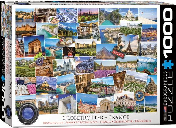 Eurographics Globetrotter France 1000 pc