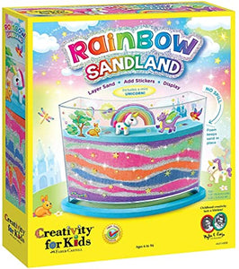 Creativity for Kids Rainbow Sandland