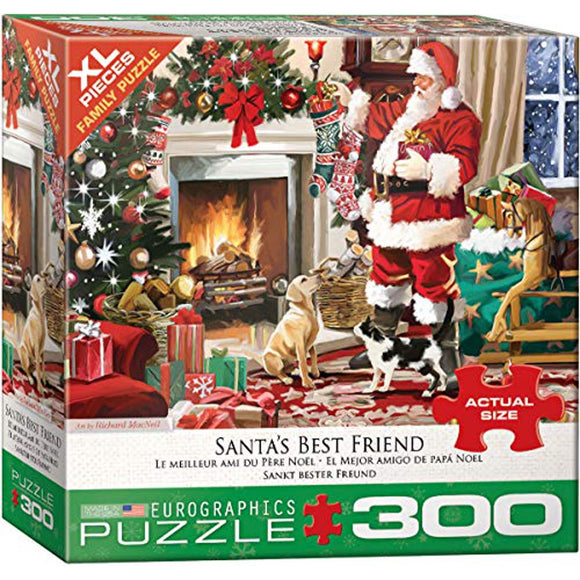 Eurographics Santa's Best Friend 300 pc XL