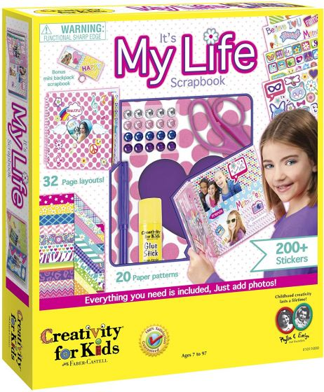 Creativity for Kids My Life Scrapbook