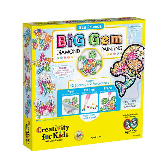 Creativity for Kids Big Gem Sea Friends