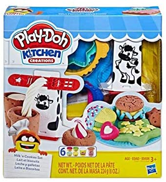 Playdoh Silly Snacks Milk 'n Cookies