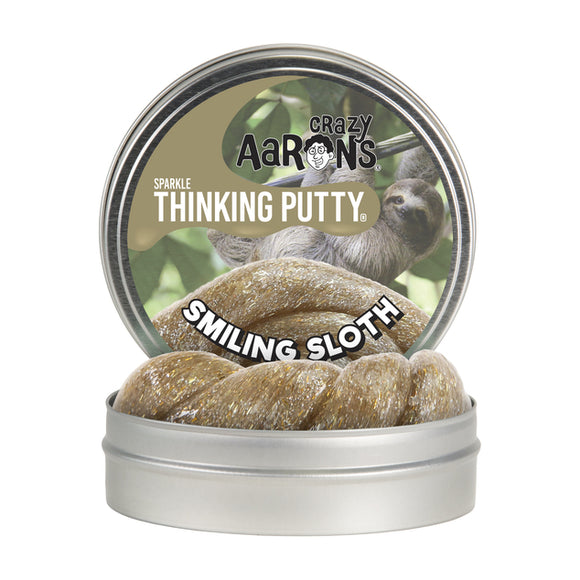 Aarons Thinking Putty Smiling Sloth
