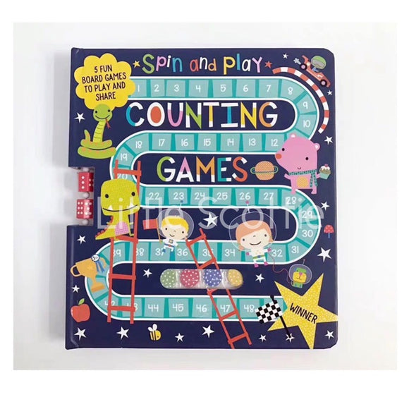 Spin & Play Counting Games Travel Book