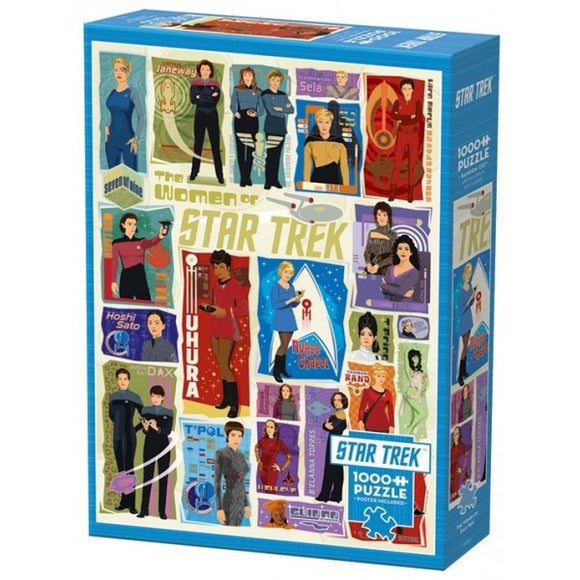 Cobble Hill The Women of Star Trek 1000 pc