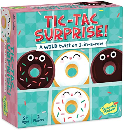 Tic Tac Surprise Doughtnuts