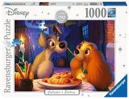 Ravensburger Lady and the Tramp puzzle 1000 pc
