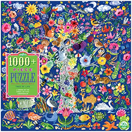 Eeboo Tree of Life puzzle 1000 pc