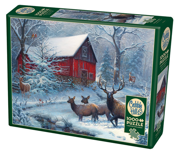 Cobble Hill Winter Magic 1000 pc