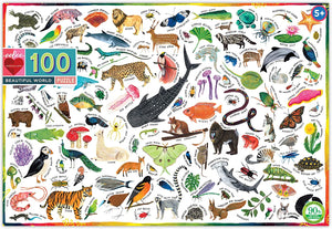 Eeboo Beautiful World 100 pc